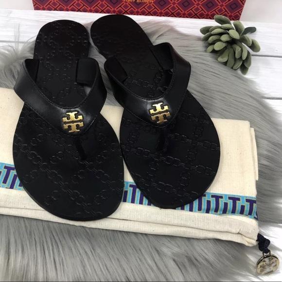 00adb4285d20 NIB Tory Burch Monroe Thong Sandals Flip Flops
